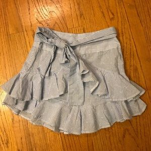 Ruffle petite skirt